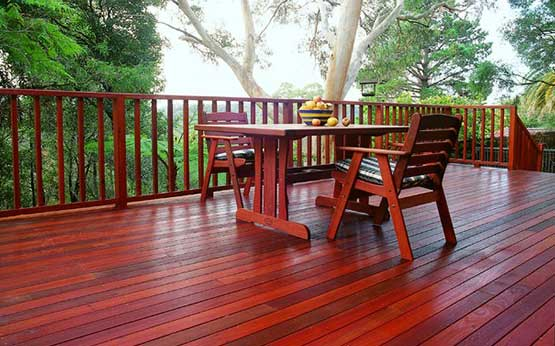 Traditional And Durable Timber Decking