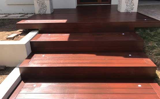 Sustainable Merbau Decking solutions